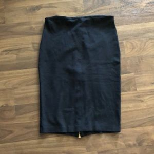 Cache Woman's Black Pencil Skirt size 12